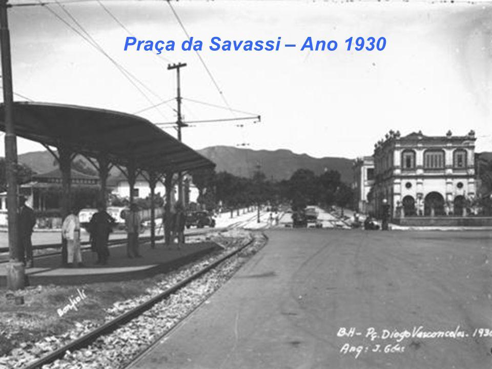 Praça da Savassi – Ano 1930