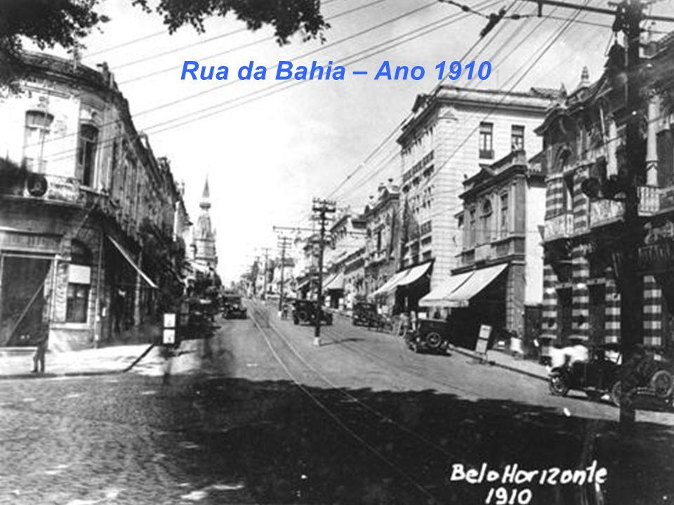 Rua da Bahia – Ano 1910