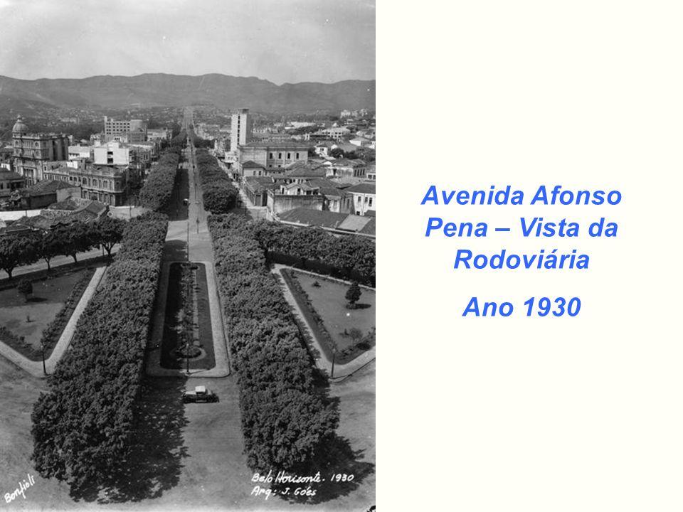 Avenida Afonso Pena – Vista da Rodoviária