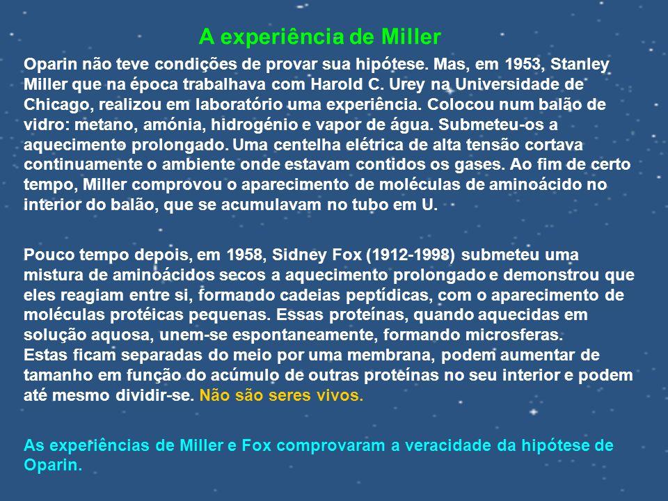 A experiência de Miller