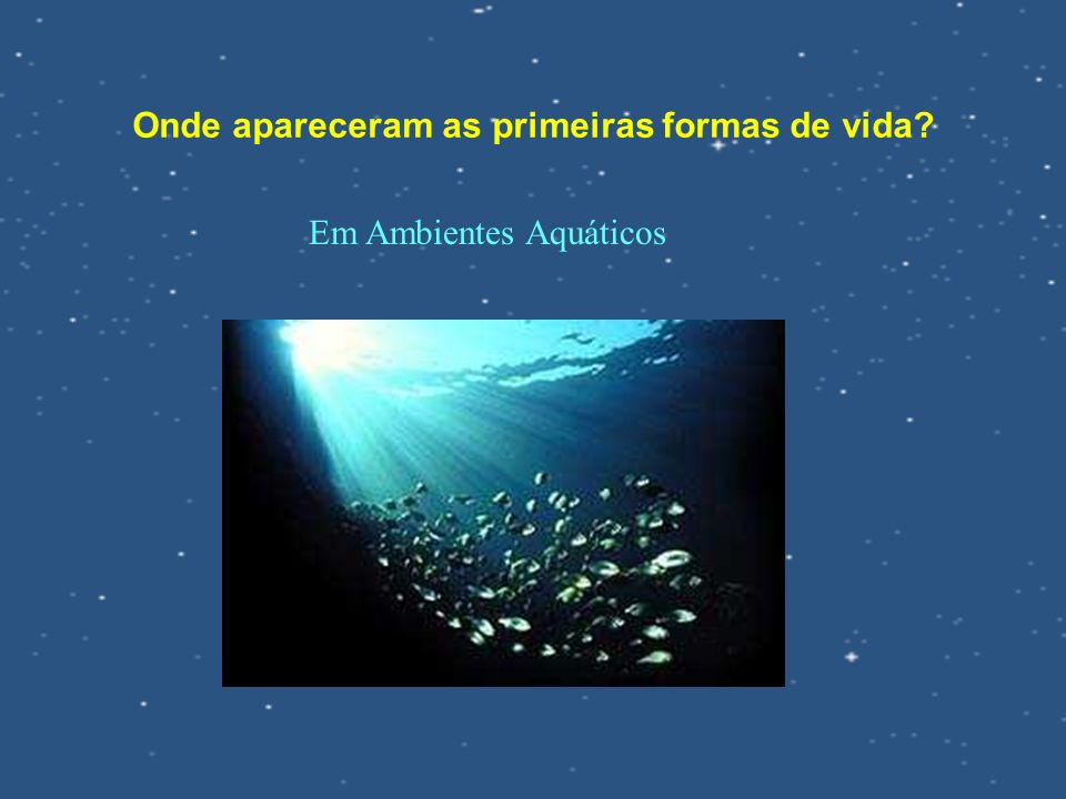 Em Ambientes Aquáticos