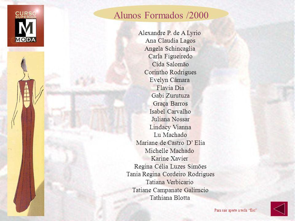 Alunos Formados /2000