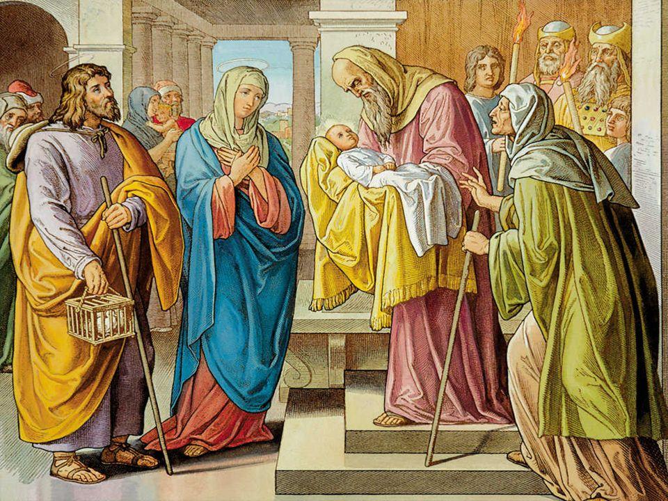 No Evangelho Jesus entra pela primeira vez no templo