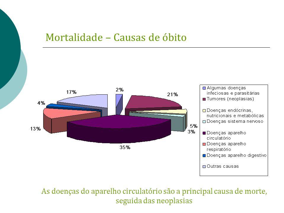 Mortalidade – Causas de óbito