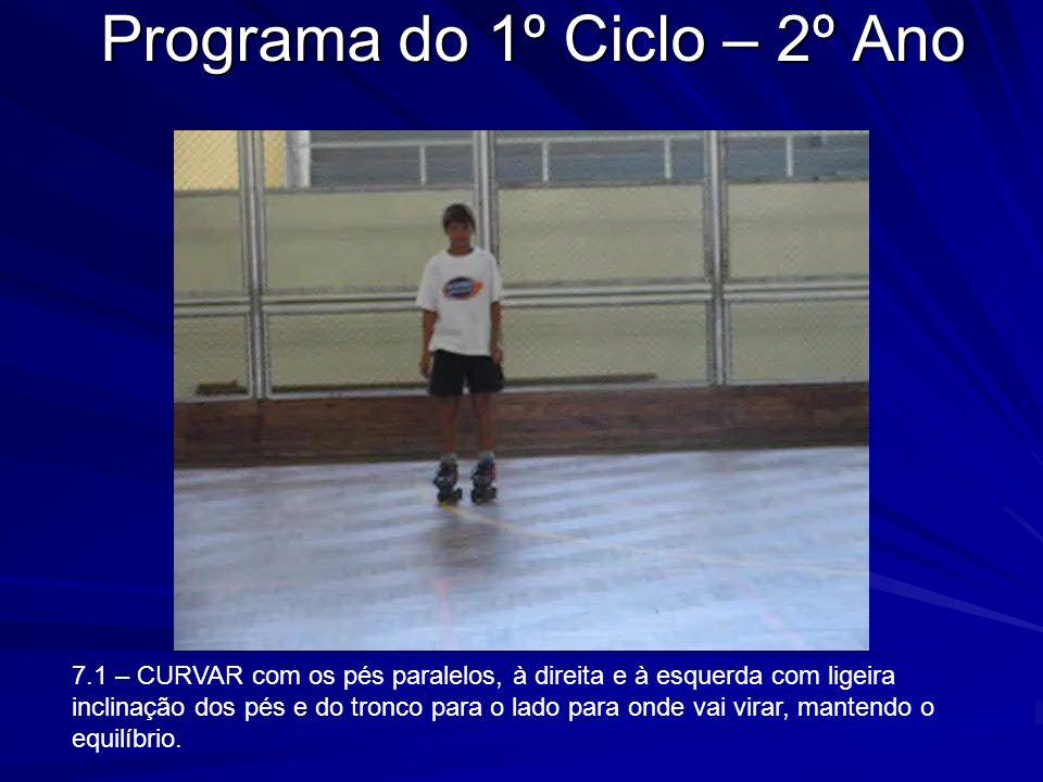 Programa do 1º Ciclo – 2º Ano
