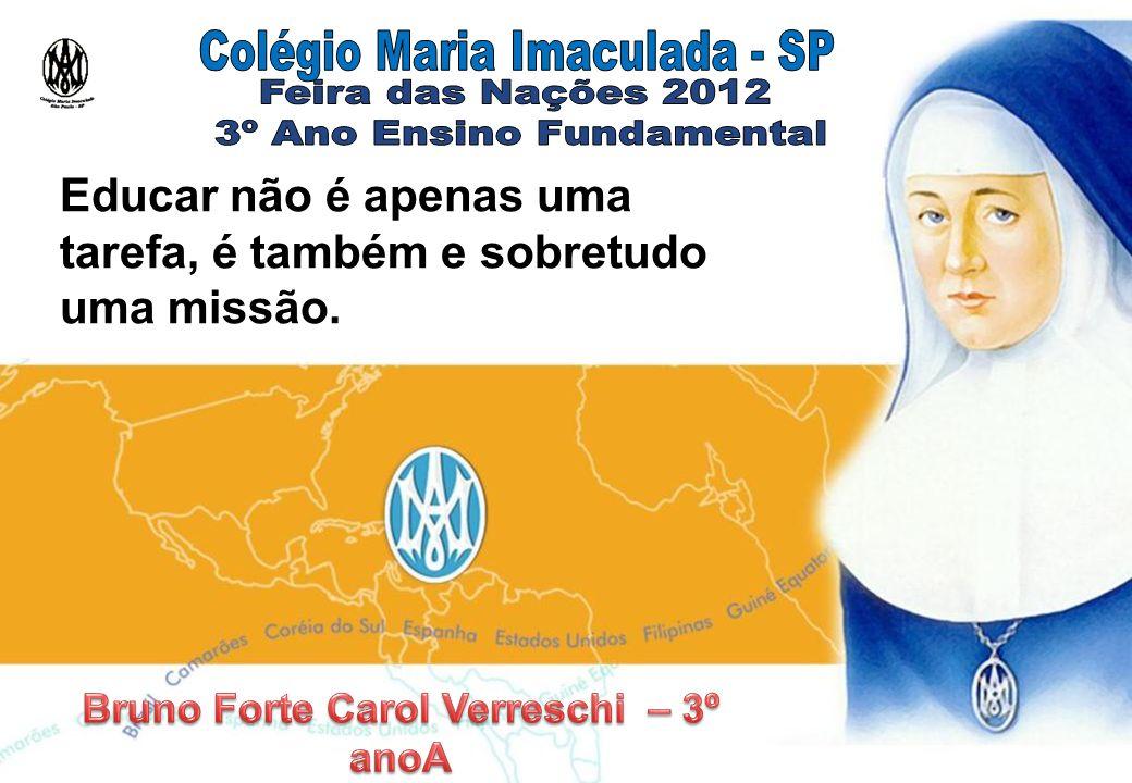 Bruno Forte Carol Verreschi – 3º anoA