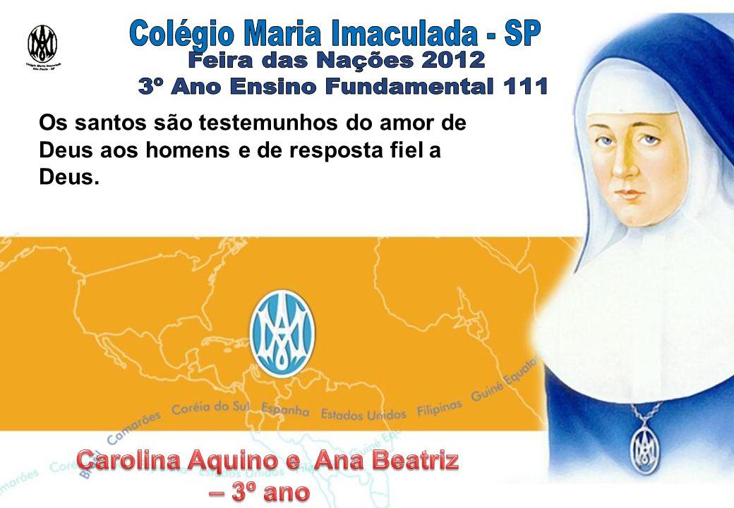 Carolina Aquino e Ana Beatriz – 3º ano