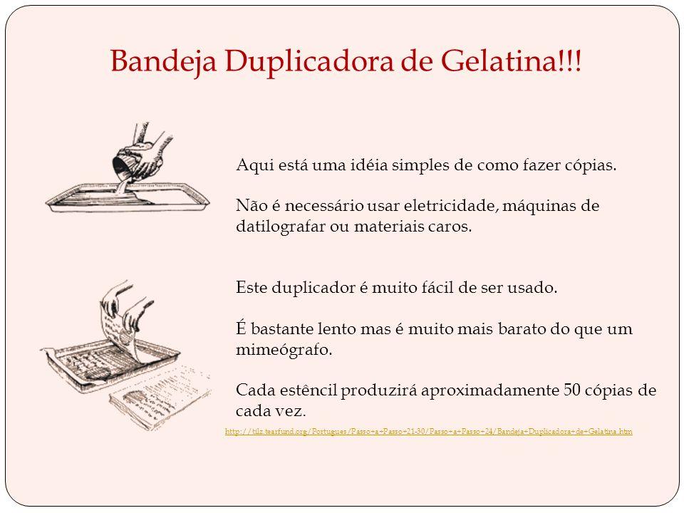 Bandeja Duplicadora de Gelatina!!!