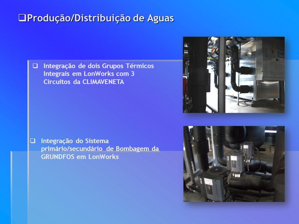 Produção/Distribuição de Aguas
