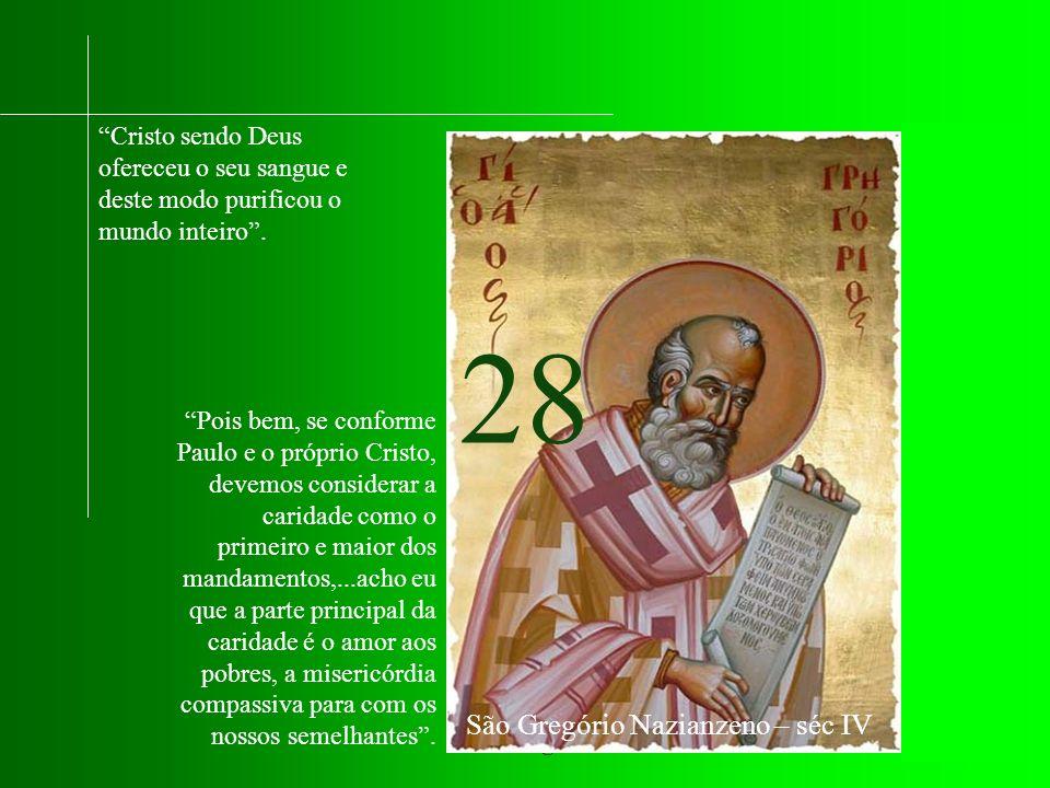 São Gregório Nazianzeno – séc IV