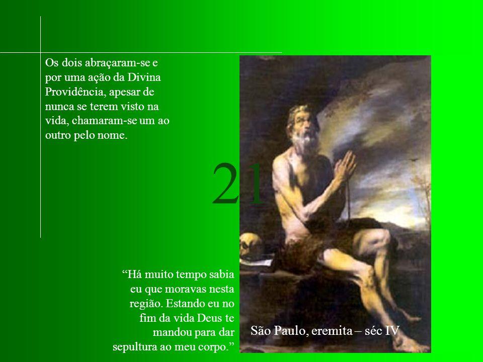 São Paulo, eremita – séc IV