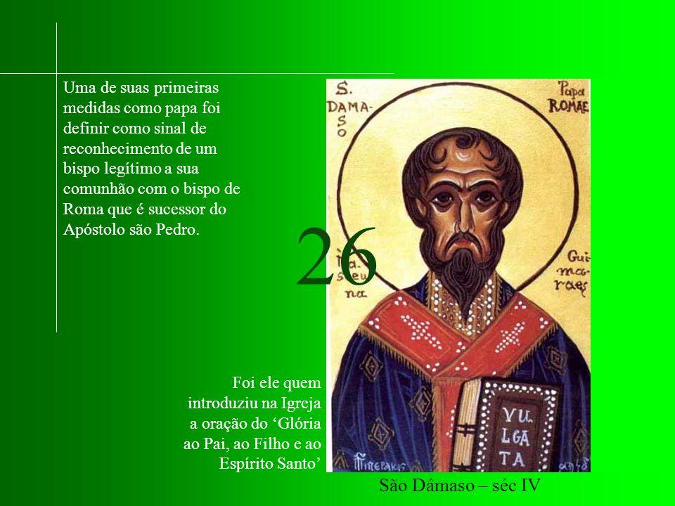 Uma de suas primeiras medidas como papa foi definir como sinal de reconhecimento de um bispo legítimo a sua comunhão com o bispo de Roma que é sucessor do Apóstolo são Pedro.