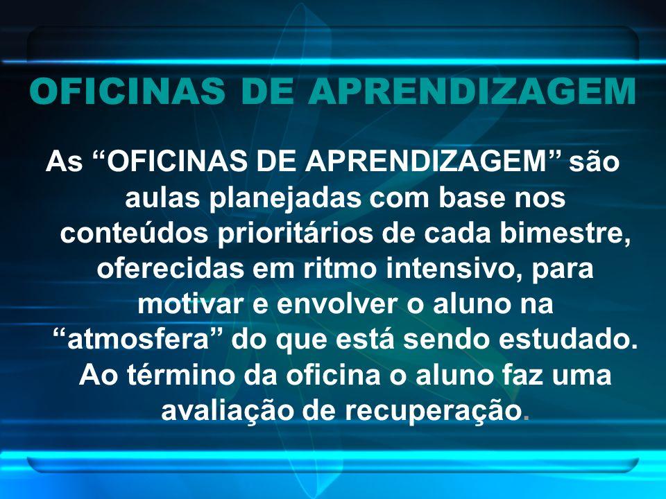 OFICINAS DE APRENDIZAGEM