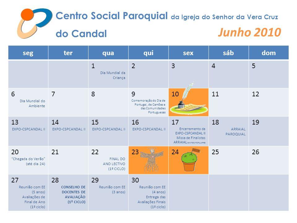 Junho 2010 Centro Social Paroquial da Igreja do Senhor da Vera Cruz