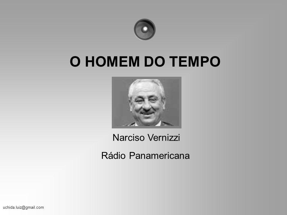 O HOMEM DO TEMPO Narciso Vernizzi Rádio Panamericana