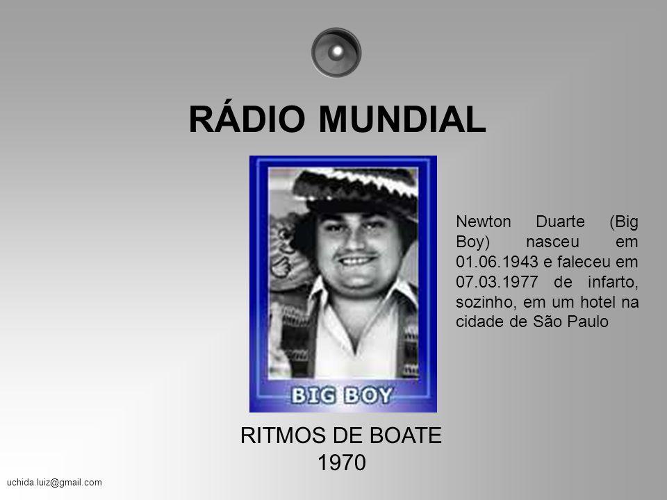 RÁDIO MUNDIAL RITMOS DE BOATE 1970