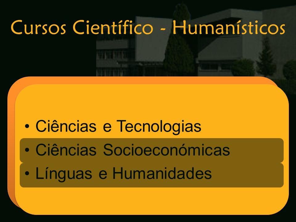 Cursos Científico - Humanísticos