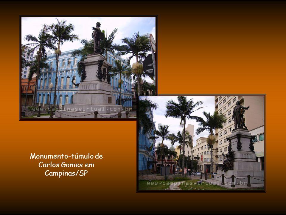Monumento-túmulo de Carlos Gomes em Campinas/SP
