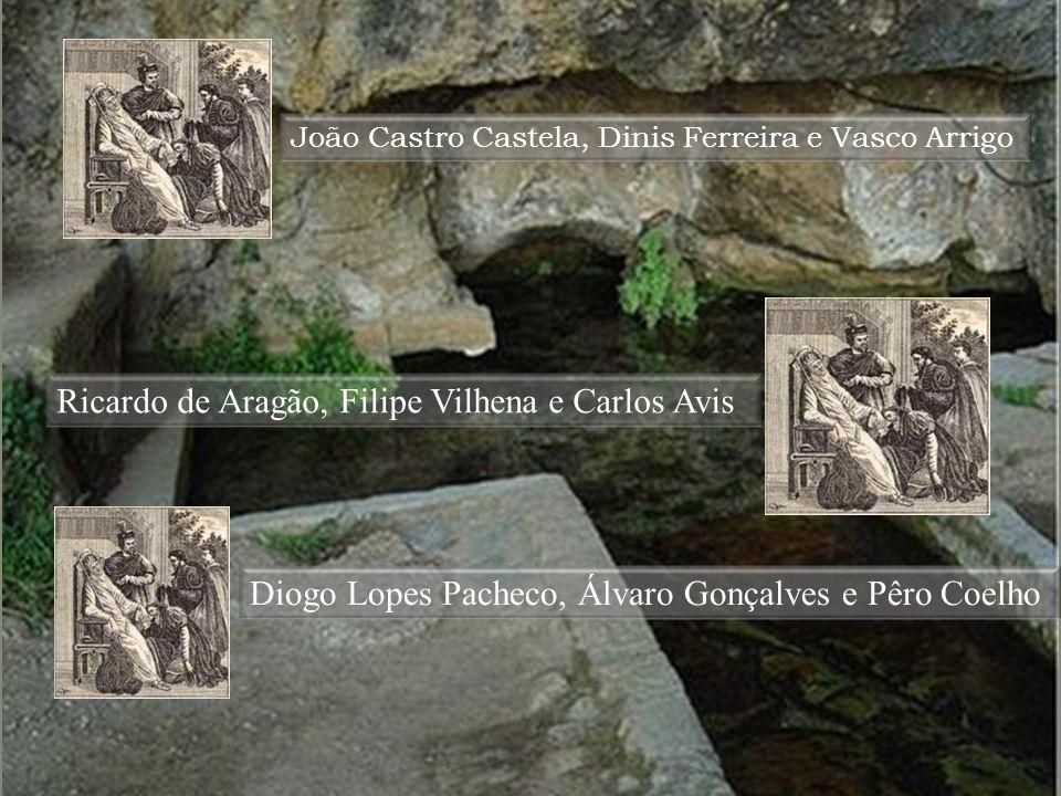 Ricardo de Aragão, Filipe Vilhena e Carlos Avis