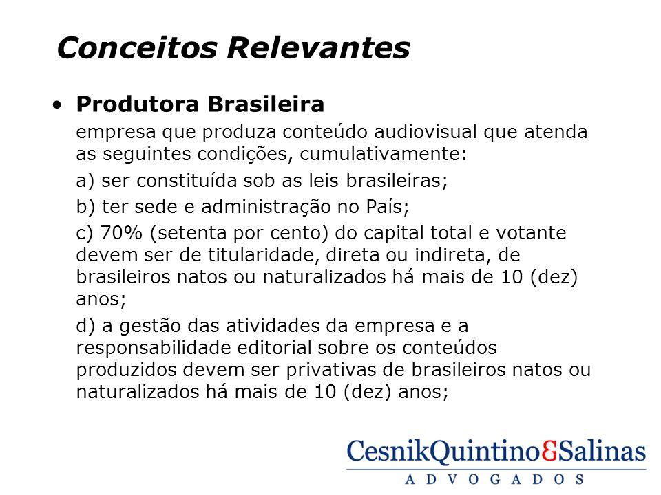Conceitos Relevantes Produtora Brasileira