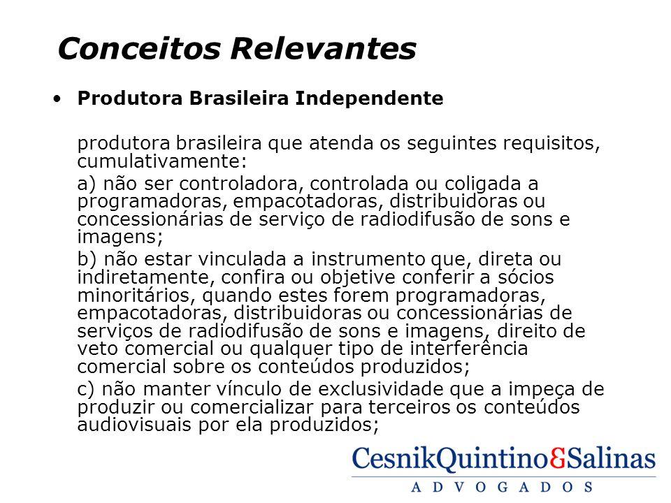 Conceitos Relevantes Produtora Brasileira Independente