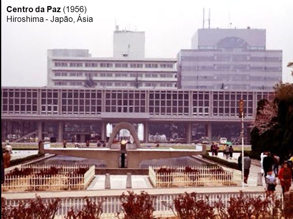 Centro da Paz (1956) Hiroshima - Japão, Ásia