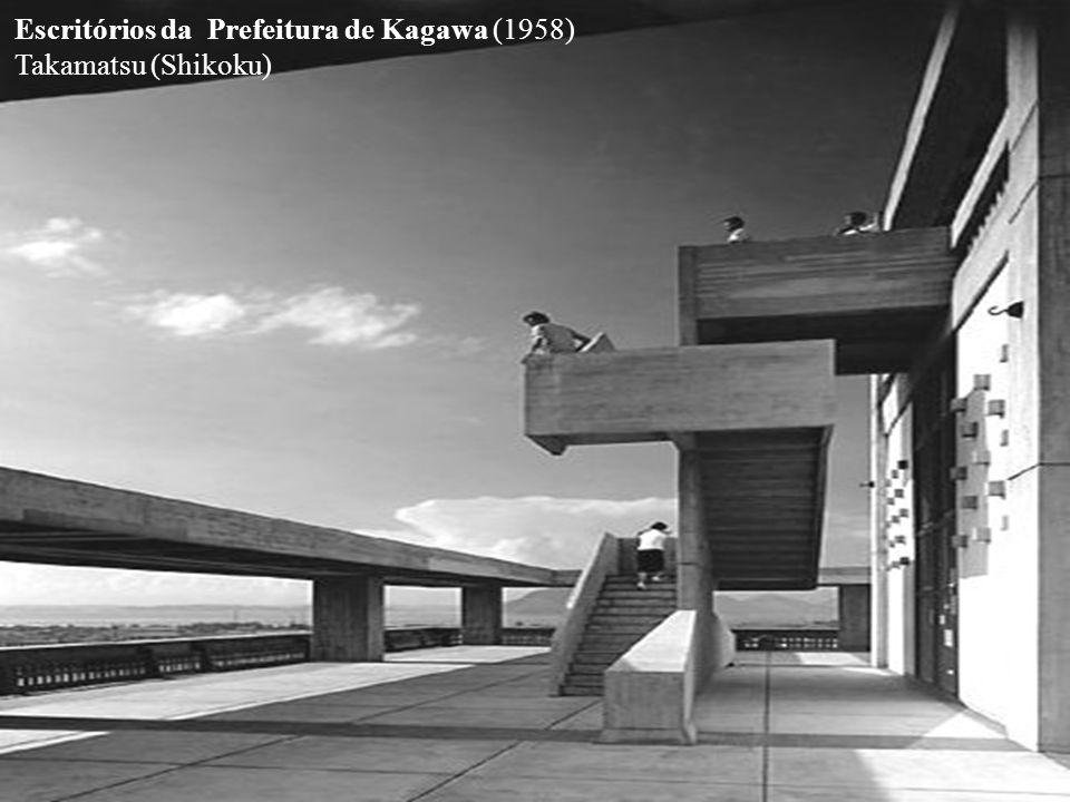 Escritórios da Prefeitura de Kagawa (1958) Takamatsu (Shikoku)