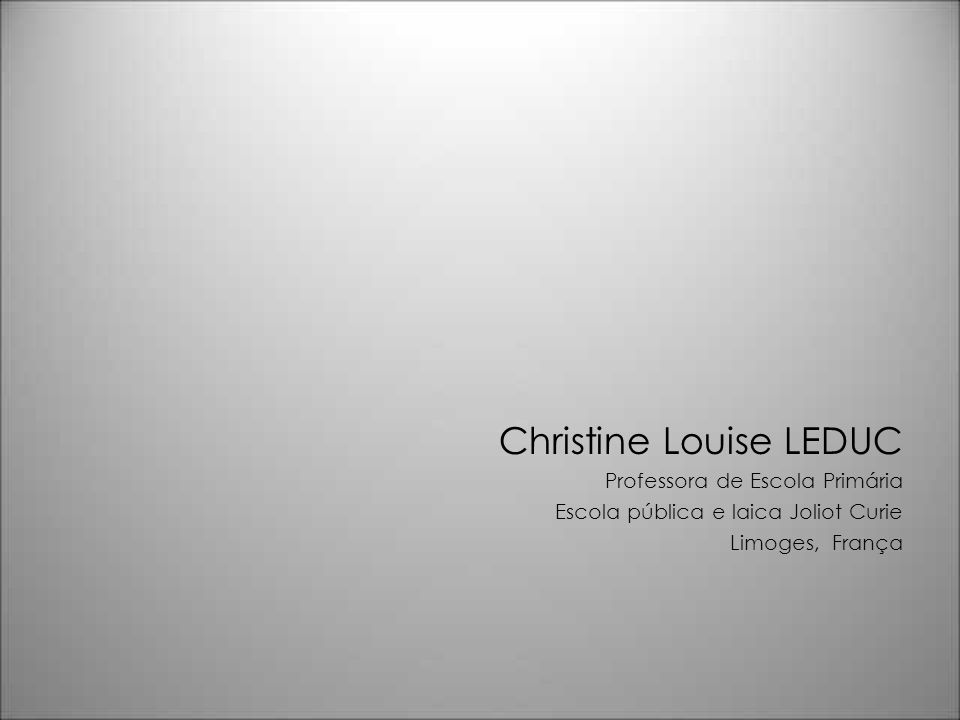 Christine Louise LEDUC