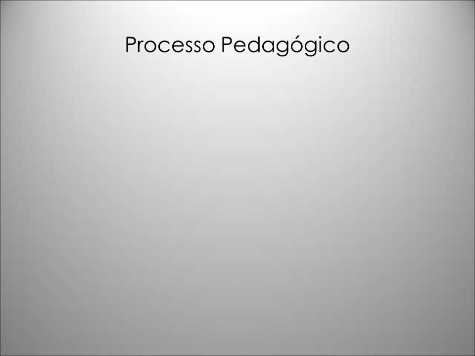 Processo Pedagógico