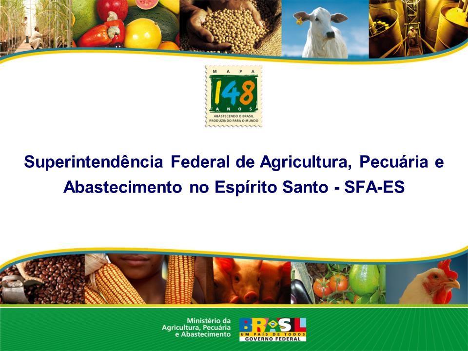 Superintendência Federal de Agricultura, Pecuária e Abastecimento no Espírito Santo - SFA-ES