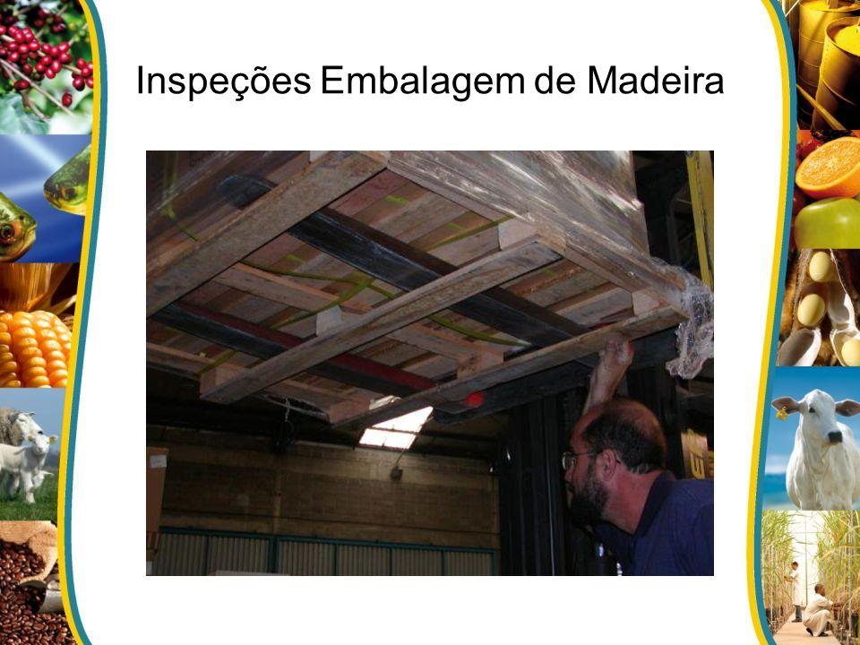 Inspeções Embalagem de Madeira