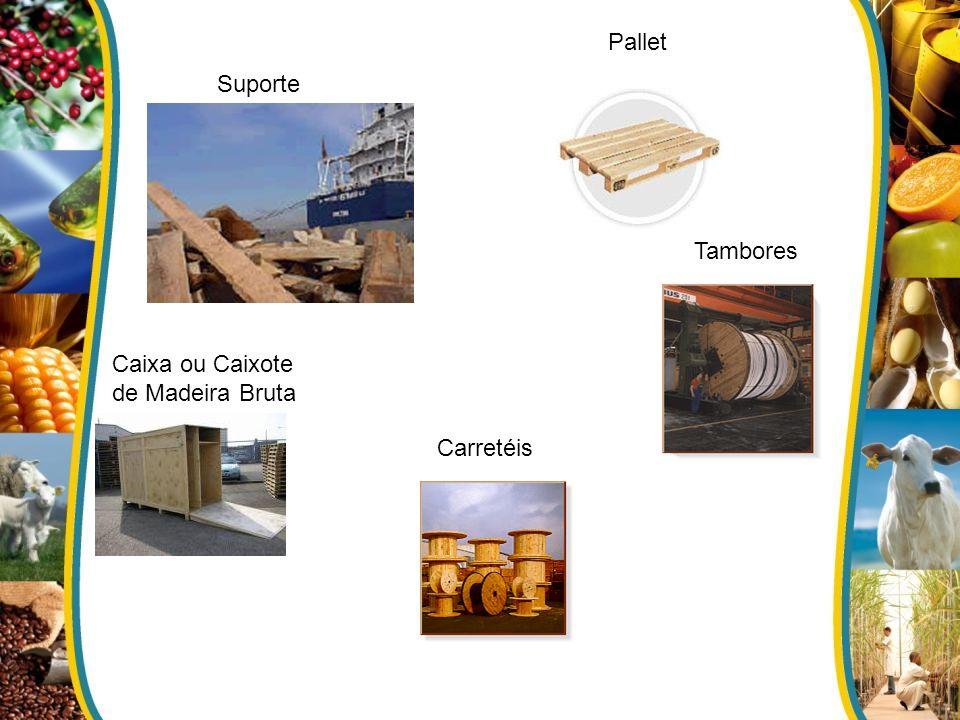 Pallet Suporte Tambores Caixa ou Caixote de Madeira Bruta Carretéis