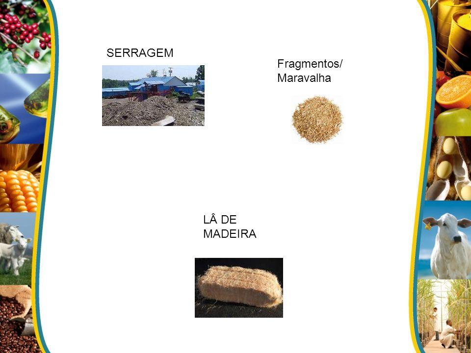 SERRAGEM Fragmentos/Maravalha LÂ DE MADEIRA