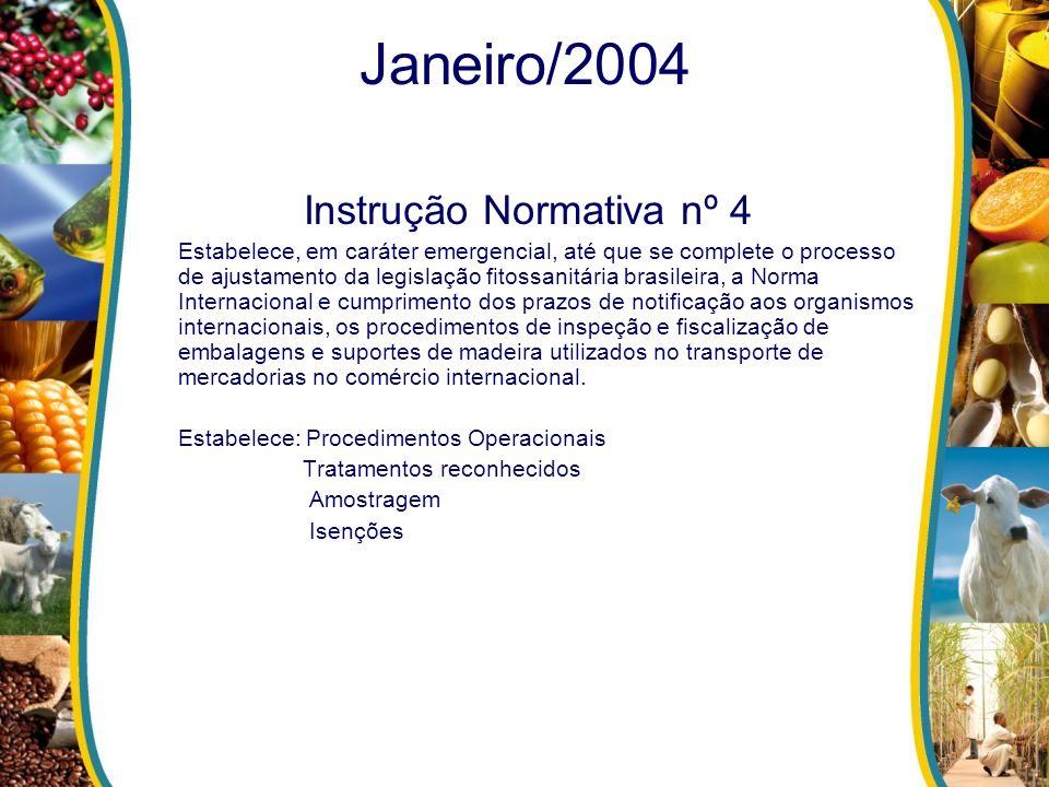 Instrução Normativa nº 4