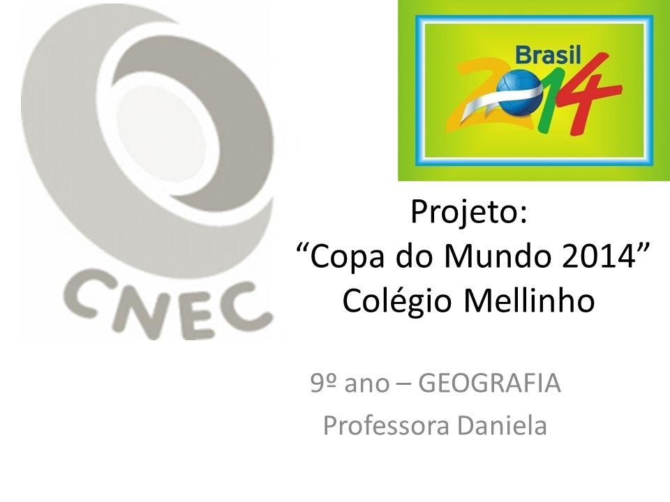 Projeto: Copa do Mundo 2014 Colégio Mellinho