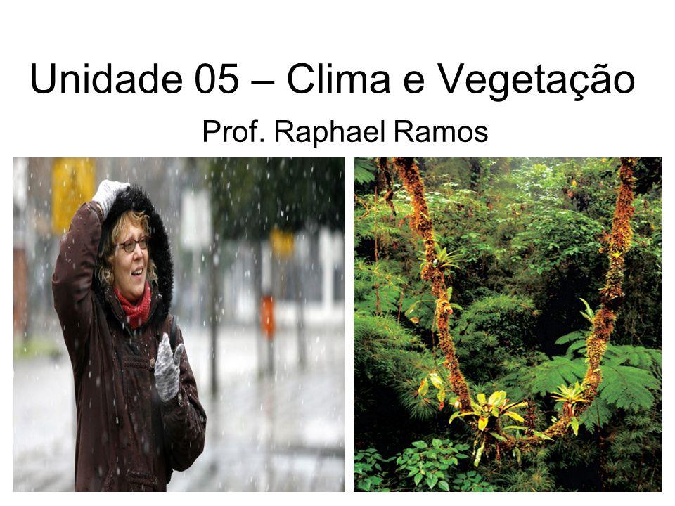 Unidade 05 – Clima e Vegetação