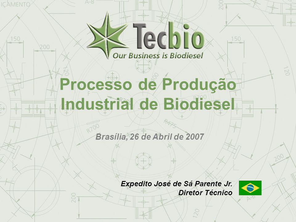 Processo de Produção Industrial de Biodiesel