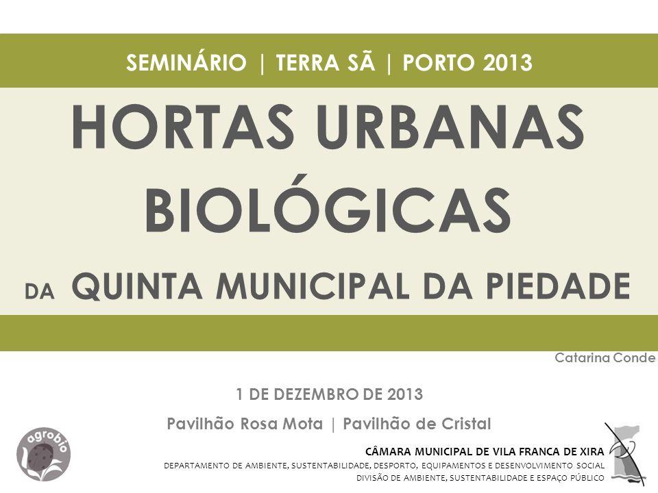 HORTAS URBANAS BIOLÓGICAS
