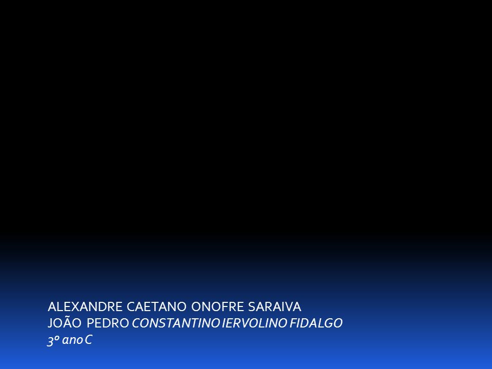 ALEXANDRE CAETANO ONOFRE SARAIVA