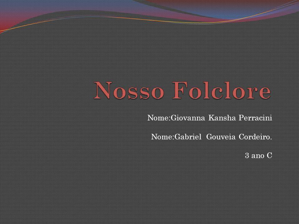Nome:Giovanna Kansha Perracini Nome:Gabriel Gouveia Cordeiro. 3 ano C