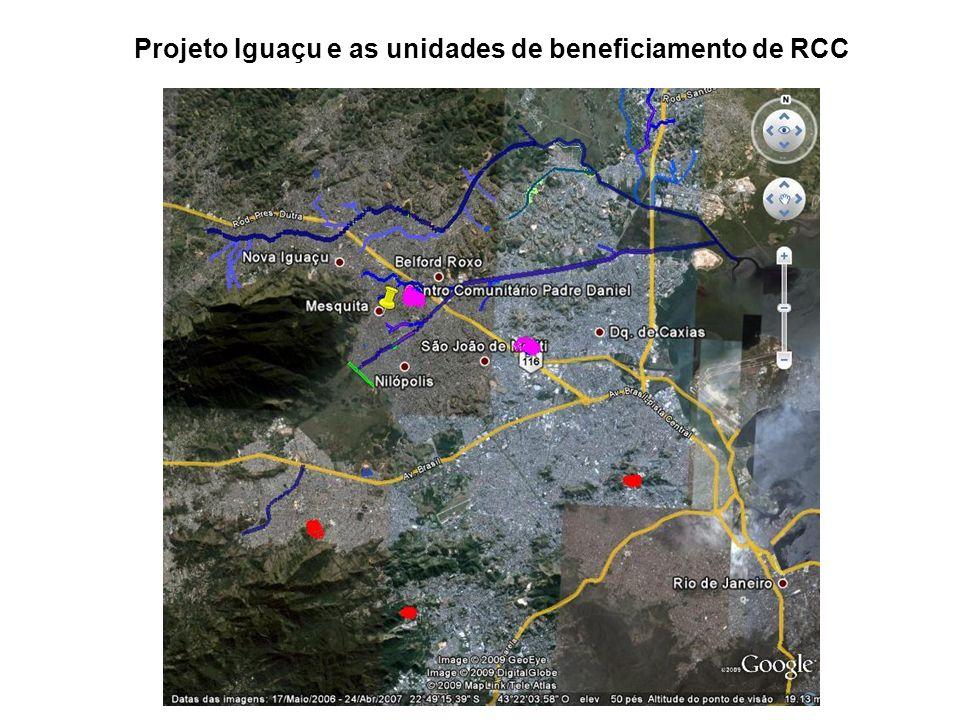 Projeto Iguaçu e as unidades de beneficiamento de RCC