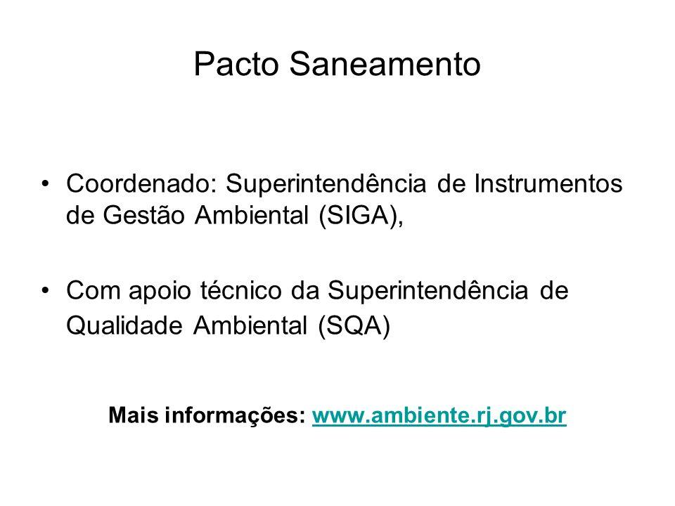 Mais informações: www.ambiente.rj.gov.br
