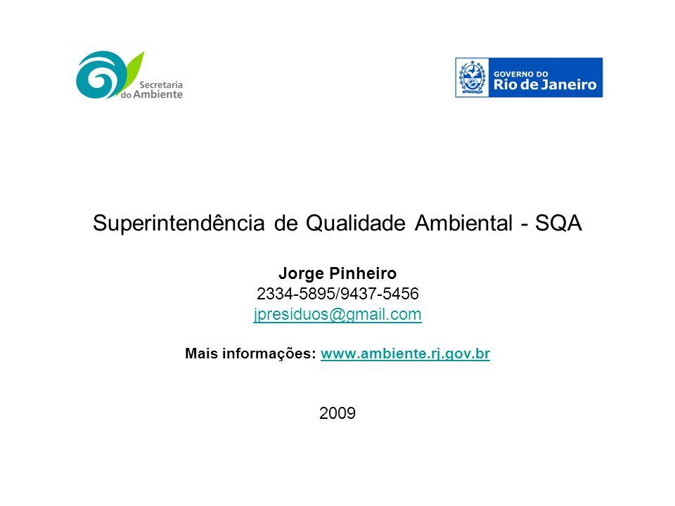 Superintendência de Qualidade Ambiental - SQA
