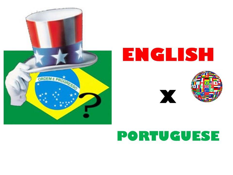 ENGLISH X PORTUGUESE