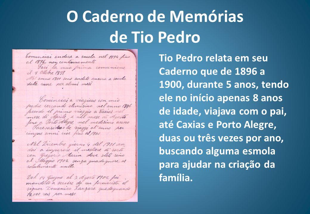 O Caderno de Memórias de Tio Pedro
