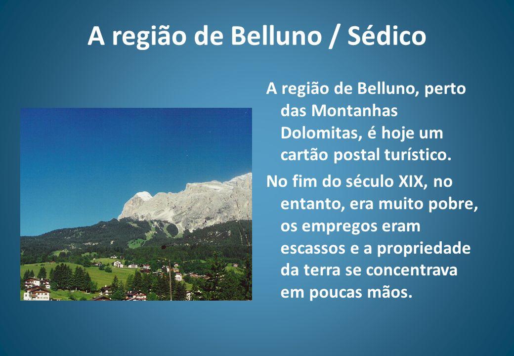 A região de Belluno / Sédico