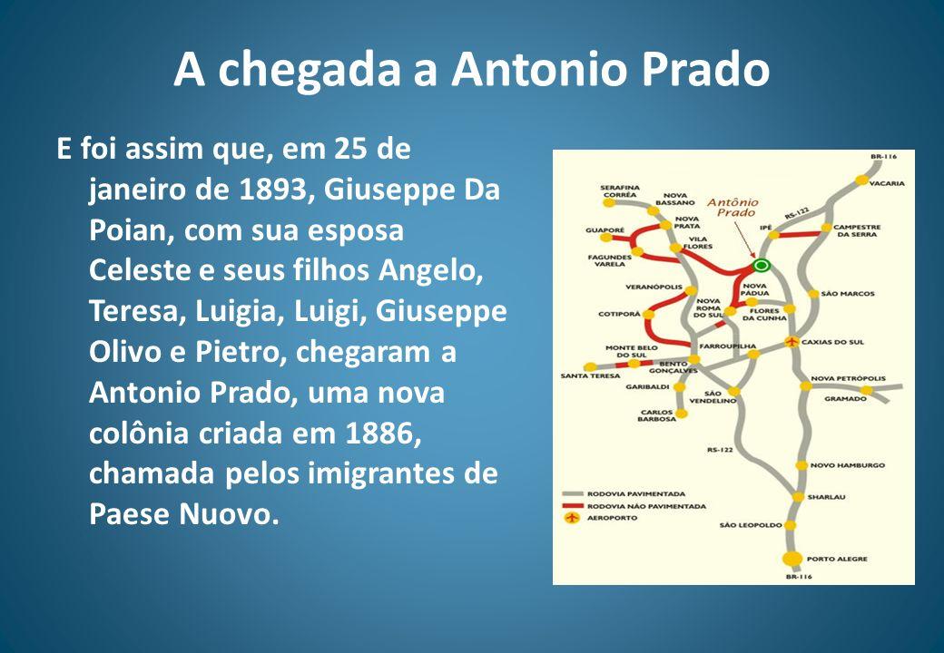 A chegada a Antonio Prado