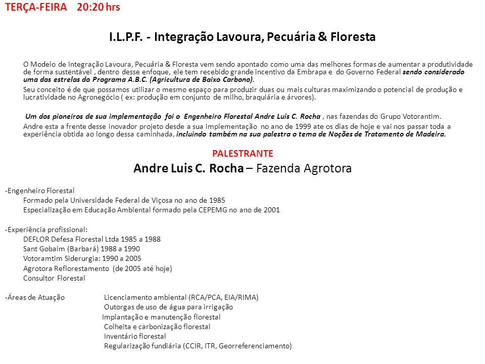 I.L.P.F. - Integração Lavoura, Pecuária & Floresta