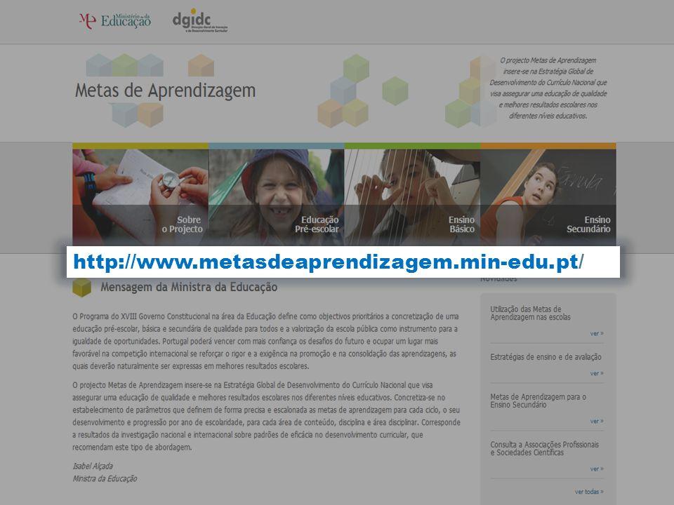 http://www.metasdeaprendizagem.min-edu.pt/