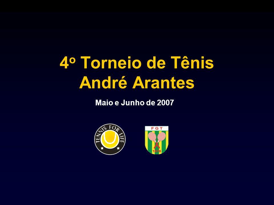4o Torneio de Tênis André Arantes